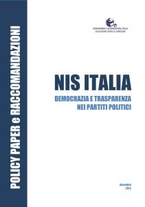 Doc.E - NIS ITALIA - DEMOCRAZIA E TRASPARENZA nei PARTITI POLITICI1 1-7