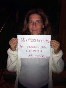 Silvia Di Stefano digiuna con Giachetti