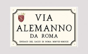 Via Alemanno da Roma
