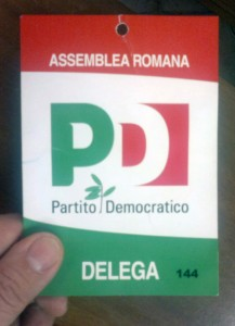 delega Pd Roma