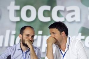 Matteo Renzi e Matteo Orfini