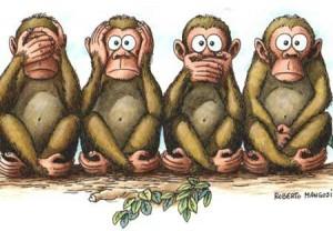 scimmie politica pd