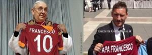 Papa Francesco Totti