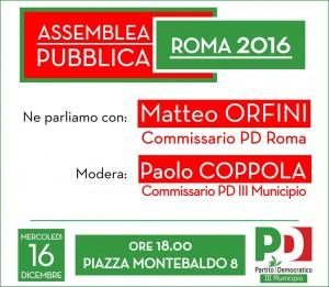Assemblea PD III Municipio