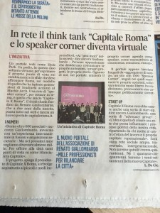 Capitale X Roma