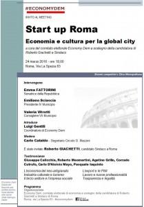 Economy Dem - Start up Roma